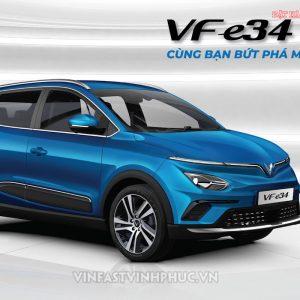 VinFast tặng 100% lệ phí trước bạ cho VF e34