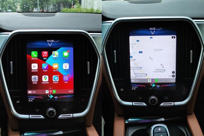 Vinfast Lux Apple Carplay